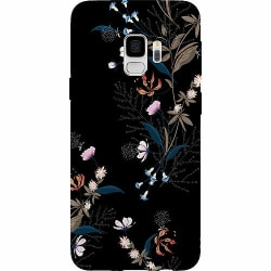 Samsung Galaxy S9 Thin Case Blommor