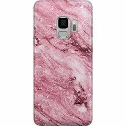 Samsung Galaxy S9 Mjukt skal - Glitter Marble