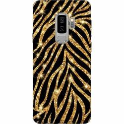 Samsung Galaxy S9+ Thin Case Gold & Glitter