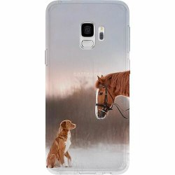 Samsung Galaxy S9 Thin Case Häst & Hund