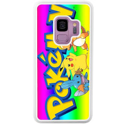 Samsung Galaxy S9 Soft Case (Vit) Pokemon