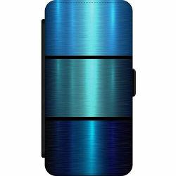 Samsung Galaxy Note 10 Plus Skalväska Blue Metallic Stripes
