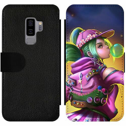 Samsung Galaxy S9+ Wallet Slim Case Fortnite Zoey