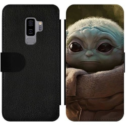 Samsung Galaxy S9+ Wallet Slim Case Baby Yoda