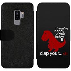 Samsung Galaxy S9+ Wallet Slim Case Dinosaurie