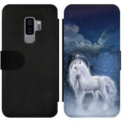 Samsung Galaxy S9+ Wallet Slim Case Unicorn