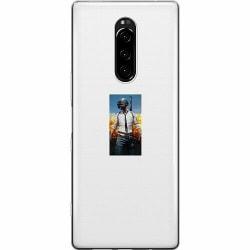 Sony Xperia 1 Mjukt skal - PUBG