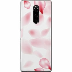 Sony Xperia 1 Mjukt skal - Blushing Petals