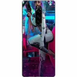 Sony Xperia 1 Mjukt skal - Cyberpunk 2077