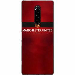 Sony Xperia 1 Mjukt skal - Manchester United