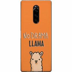 Sony Xperia 1 Mjukt skal - No Llama Drama