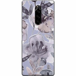 Sony Xperia 1 Mjukt skal - Watermark Petals