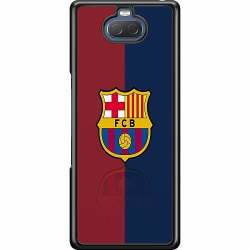 Sony Xperia 10 Hard Case (Svart) FC Barcelona
