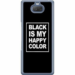 Sony Xperia 10 Hard Case (Transparent) Black