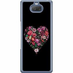Sony Xperia 10 Hard Case (Transparent) HEARTIN'