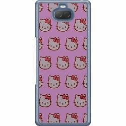 Sony Xperia 10 Hard Case (Transparent) Hello Kitty