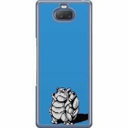 Sony Xperia 10 Hard Case (Transparent) Pixel art Pokémon