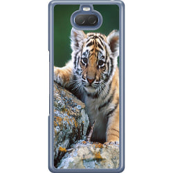 Sony Xperia 10 Hard Case (Transparent) Tiger