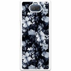 Sony Xperia 10 Hard Case (Vit) Blommor