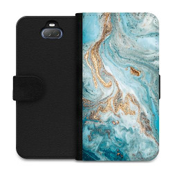 Sony Xperia 10 Plus Wallet Case Magic Marble