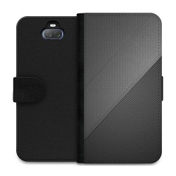 Sony Xperia 10 Plus Wallet Case Black Leather