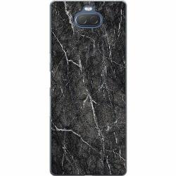 Sony Xperia 10 Thin Case Marmor Svart