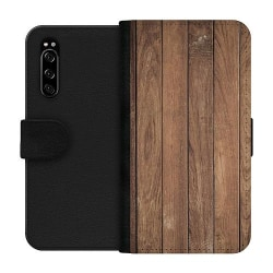 Sony Xperia 5 Wallet Case Timber
