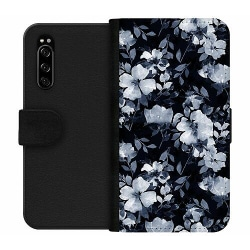 Sony Xperia 5 Wallet Case Blommor