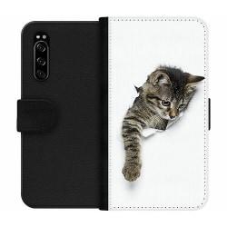 Sony Xperia 5 Wallet Case Katt