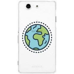 Sony Xperia Z3 Compact Thin Case Around The World