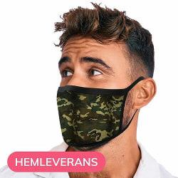 Tvättbar Fashion Mask Munskydd - Camo