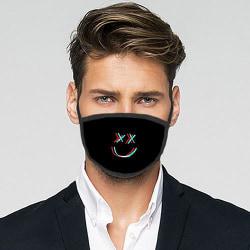 Tvättbar Fashion Mask - Smile.