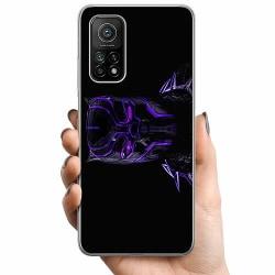 Xiaomi Mi 10T TPU Mobilskal Black Panther