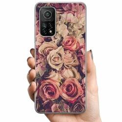 Xiaomi Mi 10T TPU Mobilskal Blommor