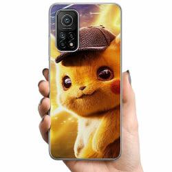 Xiaomi Mi 10T TPU Mobilskal Detective Pikachu - Pikachu