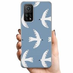 Xiaomi Mi 10T TPU Mobilskal White Pidgeon