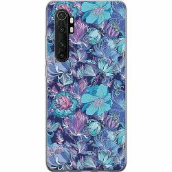 Xiaomi Mi Note 10 Lite Mjukt skal - Blommor