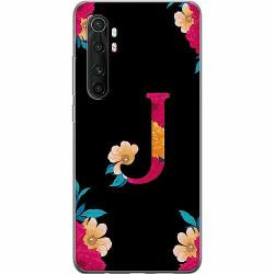 Xiaomi Mi Note 10 Lite Thin Case Bokstaven - J