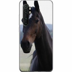 Xiaomi Mi Note 10 Lite Mjukt skal - Häst / Horse