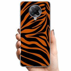 Xiaomi Poco F2 Pro TPU Mobilskal Orange Zebra