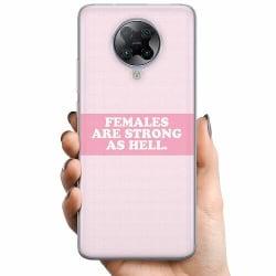 Xiaomi Poco F2 Pro TPU Mobilskal Strong Female
