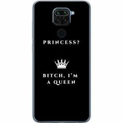 Xiaomi Redmi Note 9 Mjukt skal - Bitch I´m A Queen