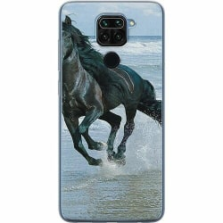 Xiaomi Redmi Note 9 Mjukt skal - Häst / Horse