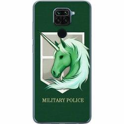 Xiaomi Redmi Note 9 Mjukt skal - Military Police