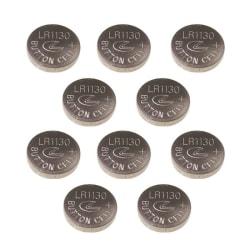 10 st Batterier AG10 (389, 390, AG10, LR1130, LR54)