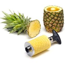 Ananasskärare i Rostfritt stål - Svart