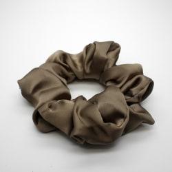 Hårsnodd Scrunchie - Satin Bronze