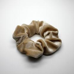 Hårsnodd Scrunchie - Velvet Beige
