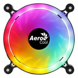 3-pack, Fläkt Aerocool Spectro (Ø 12cm) RGB Svart