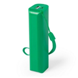 3 Pack, Power Bank 1200mAh Grön